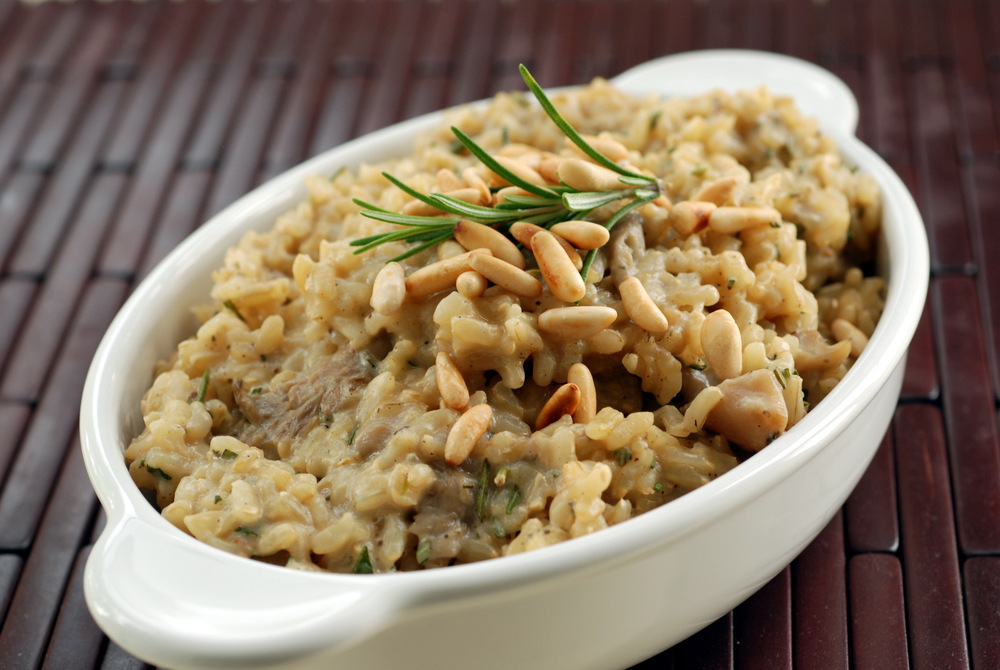 Risotto with Rosemary